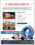 XtremeFlex Fire Suppression Kit