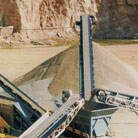 Frac Sand Mining Conveyors in a Quarry
