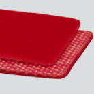 #90 Interwoven 90# Polyester Red Urethane Cover x Brushed