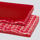 #4176 Interwoven 200# Polyester Red Urethane Cover x Brushed
