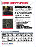 Super-Screw® Fasteners Flyer