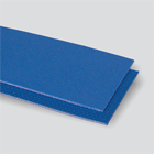 #3854 2-Ply 100# Polyester Monofilament Blue Urethane Matte Cover x Rice Pattern