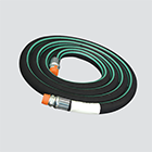 "1"" x 1.46' Nylon Braid Reinforced Anhydrous Ammonia (NH3) Hose Assembly"