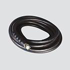 "3/8"" x 35' 3000 PSI Black Pressure Washer Hose Assembly — Male x Male Swivel"