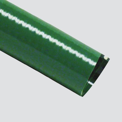 "1"" x 20' Green PVC Suction Hose Assembly — Aluminum Cam Lock"