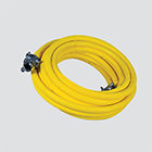 "1"" x 50' Wire Braid Air Hose Assembly — Universal Boss/2 Bolt"