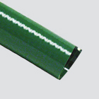 "1"" Green PVC Suction Hose — Bulk/Uncoupled"