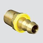 "1/4"" Male Pipe Thread x 1/4"" Hose Barb Push-On Air Hose Fitting"