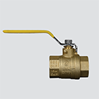 "1-1/4"" Full Port Brass Ball Valve"