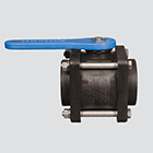 "2"" Male x Female Pipe Thread Compact Bolted Polypropylene Ball Valve"