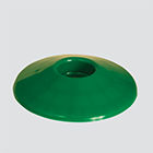 "1-1/4"" Green Fuel Nozzle Splash Guard"