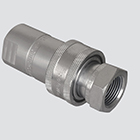 "1/2"" Female Pipe Thread x 1/2"" Body One-Way Sleeve Hydraulic Quick Disconnect (S20-4)"