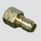 "1/4"" Quick Disconnect Plug x 1/4"" Female Pipe Thread Pressure Washer Adapter (Unpackaged)"