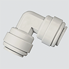 "1/2"" x 1/2"" 90° Elbow Union Push-In Fitting"
