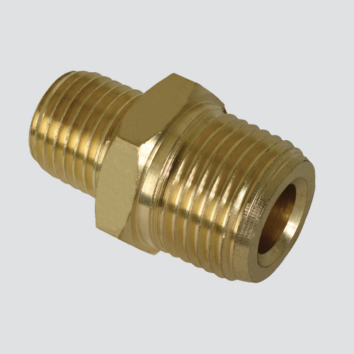 "1/4"" Female Pipe Thread x 1/4"" Female Pipe Thread Brass Fitting"