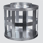 """1-1/2"""" Square Hole Suction Strainers — Plated Steel"""