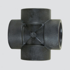 "1"" Schedule 80 Female Pipe Thread Cross — Polypropylene"