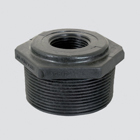 "1"" Male Pipe Thread x 1/8"" Female Pipe Thread Schedule 80 Reducer Bushing — Polypropylene"