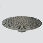 """1-1/2"""" Bottom Hole Suction Skimmer — Plated Steel"""