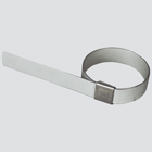 """1-1/2"""" Center Punch Preformed Clamp — Galvanized Carbon Steel"""