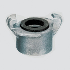 "1-1/4"" Sandblast Female Pipe Thread Coupling x Gasket Seal"