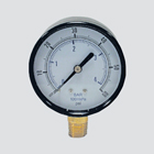 "1-1/2"" 100 PSI Dry Pressure Gauge — 1/8"" Male Pipe Thread Lower Mount"