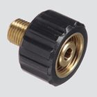 "1/4"" Male Pipe Thread x Female Metric Pressure Washer Adapter"