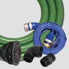"2"" Water Transfer Pump Kit — Aluminum Fittings & Poly Adapters"