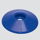 "1"" Blue Fuel Nozzle Splash Guard"