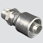 "1"" Gates MegaCrimp® x 1"" Male Pipe Thread Swivel Hydraulic Fitting"