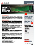 Infinity Belt Scraper Product Profile Flyer