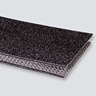 2-Ply 100# Polyester Monofilament Black PVC Bare x Bare Whisper Weave