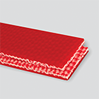 #4156 Interwoven 120# Polyester Red Urethane Cover x Brushed