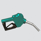 "1"" Professional Grade UL Approved Green Automatic Shut-Off Fuel Nozzle"